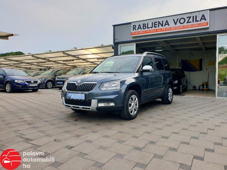Škoda Yeti 2.0 TDI 4X4
